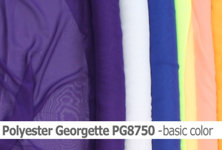 Polyester Georgette basic