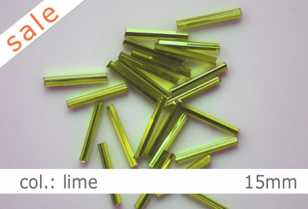 Stifte - 15mm - col.lime